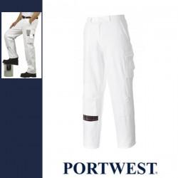 PORTWEST S817 - Festő nadrág - fehér