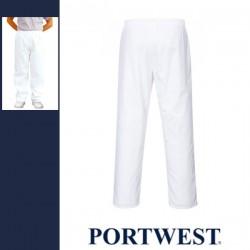 PORTWEST 2208 - Élelmiszeripari nadrág - fehér