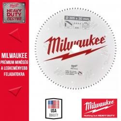 Milwaukee CSB MS Alu Körfűrészlap gérvágókhoz - 305 x 30 x 3,0 mm x 96TF neg.