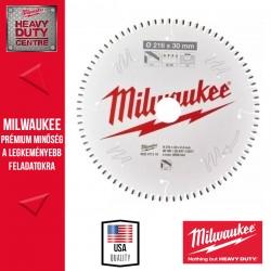 Milwaukee CSB MS Alu Körfűrészlap gérvágókhoz - 216 x 30 x 2,4 mm x 80TF neg.