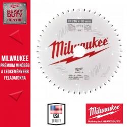 Milwaukee CSB MS W Körfűrészlap gérvágókhoz - 216 x 30 x 2,4 mm x 48ATB neg.