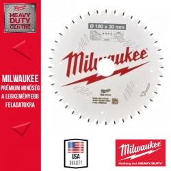 Milwaukee CSB MS W Körfűrészlap gérvágókhoz - 190 x 30 x 2,4 mm x 40ATB neg.