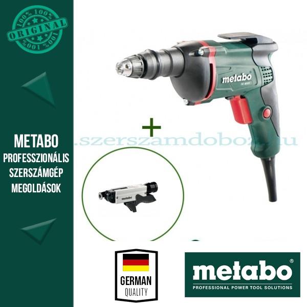 Metabo SE 4000 Csavarbehajtó + SM 5-55 csavarozótár