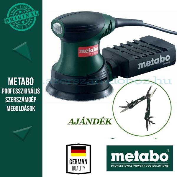 Metabo FSX 200 Intec Excentercsiszoló + AJÁNDÉK Multitool