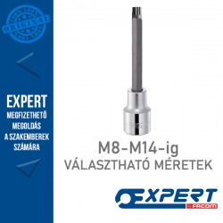 "Expert (by FACOM) 1/2"" XZN Hosszú BIT Dugókulcsok M8-M14-ig"