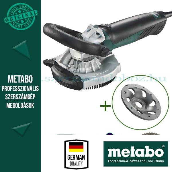 Metabo RS 14-125 Renovációs csiszoló + PKD fazéktárcsa