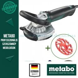 Metabo RS 14-125 Renovációs csiszoló + beton gyémánt fazéktárcsa