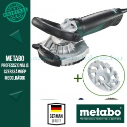 Metabo RS 14-125 Renovációs csiszoló + abrazív gyémánt fazéktárcsa
