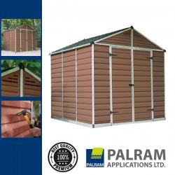 Palram Skylight 8x8 Kerti ház (barna)