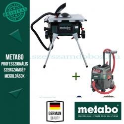 Metabo TS 254 Asztali körfűrész + ASR 35 M ACP Porszívó