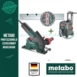 Metabo W 12-125 HD Sarokcsiszoló + ASR 35 L ACP Porszívó