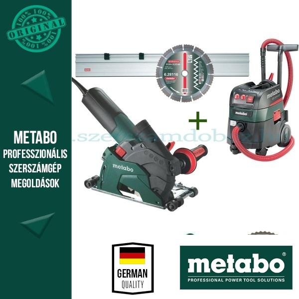 Metabo W 12-125 HD Sarokcsiszoló + ASR 35 M ACP Porszívó