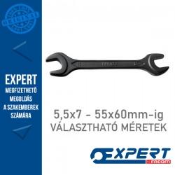 Expert (by FACOM) DIN Erősített (üthető) masszív villáskulcsok - 5,5x7mm-55x60mm-ig