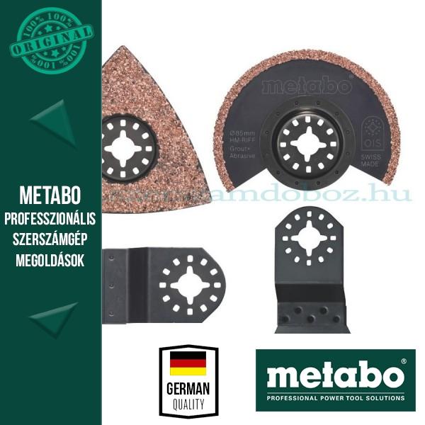 Metabo Készlet csempézéshez (fűrészlap, csiszolólap, kaparó)