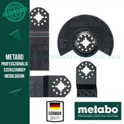 Metabo Készlet belsőépítészeti munkához (fűrészlap, csiszolólap, kaparó)