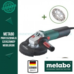 Metabo WE 15-125 HD Sarokcsiszoló + GED készlet