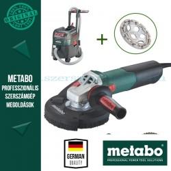 Metabo WE 15-125 HD Sarokcsiszoló + ASR 35 L ACP Porszívó