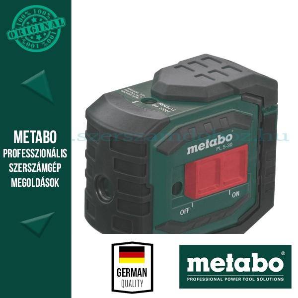 Metabo PL 5-30 5-pontos lézer