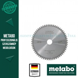 Metabo Körfűrészlap 216 mm