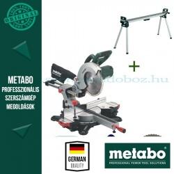 Metabo KGS 254 M Gérvágófűrész + KSU 400 Gépállvány