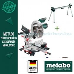 Metabo KGS 305 M Gérvágófűrész + KSU 400 Gépállvány