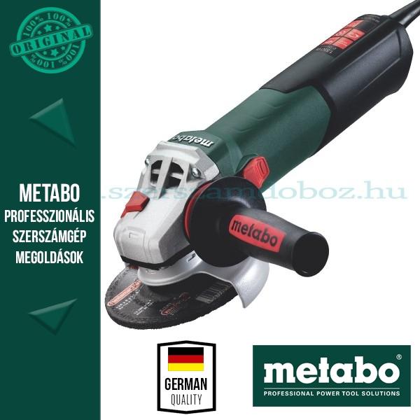 Metabo WEVA 15-125 Quick Sarokcsiszoló