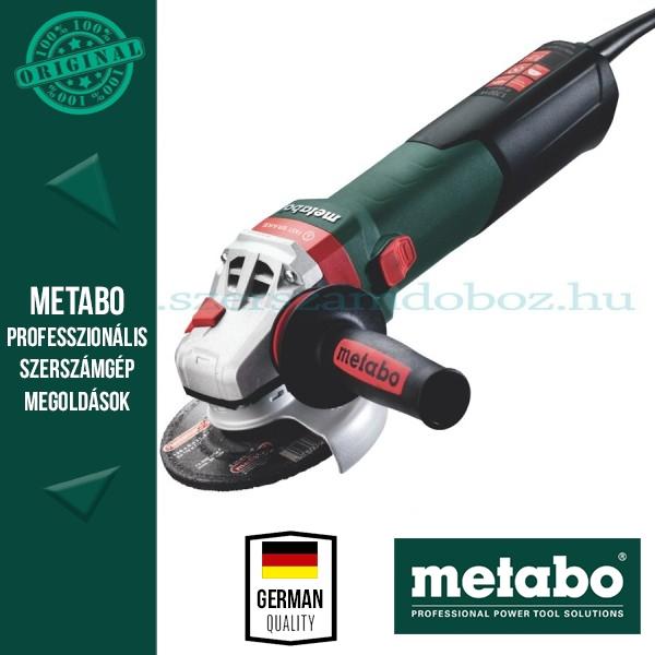 Metabo WEBA 17-125 Quick Sarokcsiszoló