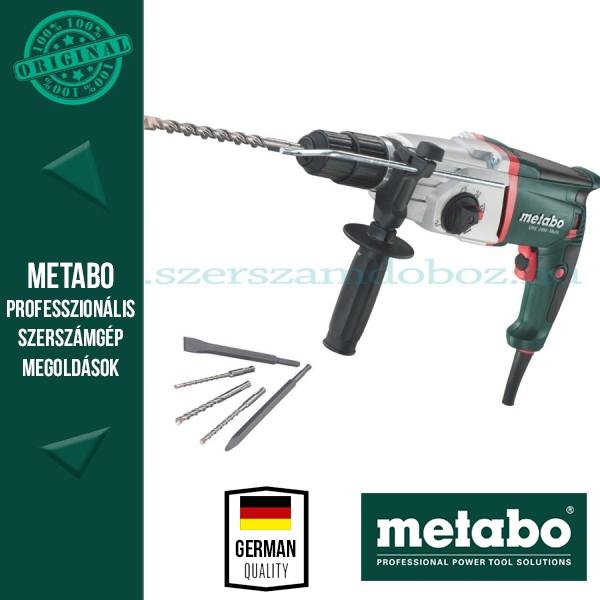 Metabo UHE 2450 Multi Elektronikus multikalapács készlet