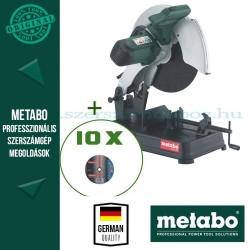 Metabo CS 23-355 Gyorsdaraboló-fémvágó + 10 db vágókorong