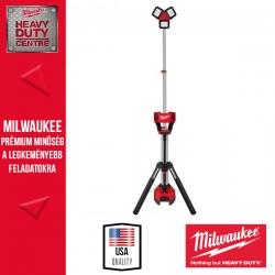 Milwaukee M18™ Nagy teljesítményű állványos térmegvilágító lámpa és töltő