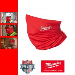 Milwaukee NGFM-R Nyakvédő és szájmaszk - vörös