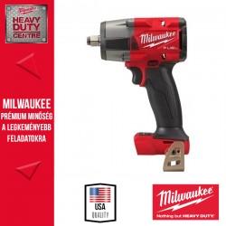 Milwaukee M18 FMTIW2F12-0X M18 FUEL™ 1/2″ Közepes nyomatékú ütvecsavarozó biztosítógyűrűvel alapgép