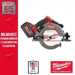 Milwaukee M18 FCSG66-121C M18 FUEL™ 66 mm Körfűrész fához és műanyaghoz, vezetősínnel kompatibilis (1 x 12.0 Ah akku és töltő)