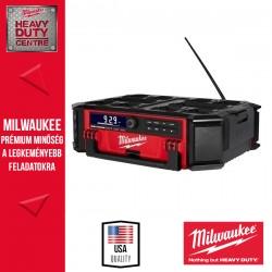 Milwaukee M18 PRCDAB+-0 M18 PACKOUT™ Rádió/töltő alapgép