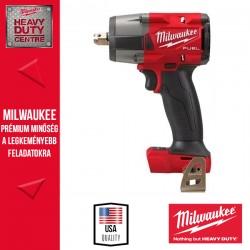 """Milwaukee M18 FMTIW2P12-0X M18 FUEL™ 1/2"""" Közepes nyomatékú ütvecsavarozó rögzítőcsappal alapgép"""