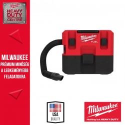 Milwaukee M12 FVCL-0 M12 FUEL™ Nedves/száraz porszívó alapgép