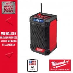 Milwaukee M12 RCDAB+-0 Rádió/töltő DAB+
