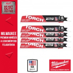 Milwaukee HEAVY DUTY TORCH™ NITRUS CARBIDE™ Fűrészlap, 150 mm - 5db