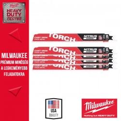 Milwaukee HEAVY DUTY TORCH™ NITRUS CARBIDE™ Fűrészlap, 230 mm - 5db