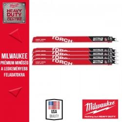 Milwaukee HEAVY DUTY TORCH™ NITRUS CARBIDE™ Fűrészlap, 300 mm - 5db