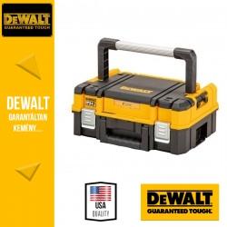 DEWALT DWST83344-1 TSTAK Lapos Szortimenter és szerszámosláda, IP54 vízálló