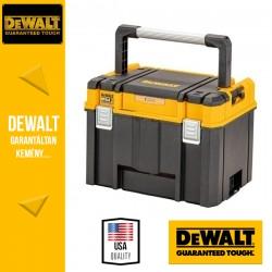 DEWALT DWST83343-1 TSTAK Mély Szortiemnter és szerszámosláda, IP54 vízálló