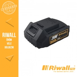 Riwall RAB 220Li-Ion Akkumulátor 2 Ah, 20 V