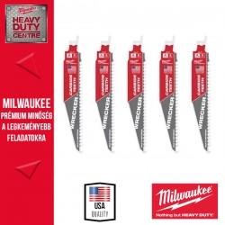 Milwaukee Többfunkciós nagy teljesítményű WRECKER™ karbidfogas fűrészlapok, 150 mm - 5db