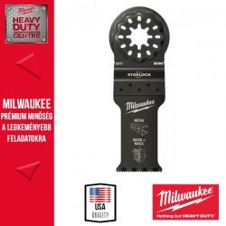 Milwaukee Merülő fűrészlapok Bimetál (Fém, Fa + Szeg) , 28 x 47 mm - 10db