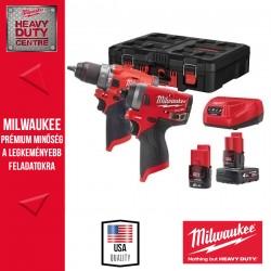 Milwaukee M12 FPP2A-422P Akkumulátoros Erőcsomag