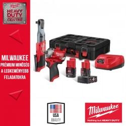Milwaukee M12 FPP2AV-422P Akkumulátoros Erőcsomag
