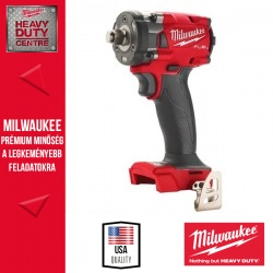 Milwaukee M18 FIW2F12-0X M18 FUEL™ 1/2″ Kompakt ütvecsavarozó biztosítógyűrűvel alapgép