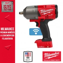 Milwaukee M18 ONEFHIWF12-0X M18 FUEL™ ONE-KEY™ 1/2″ Nagy nyomatékú ütvecsavarozó biztosítógyűrűvel