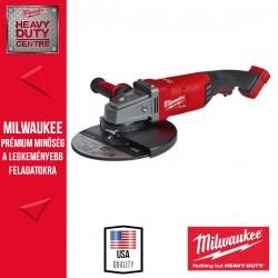 Milwaukee M18 FLAG230XPDB-0C M18 FUEL™ 230 mm Nagy sarokcsiszoló hosszú alsó kapcsolóval alapgép (Szerszámkofferben)